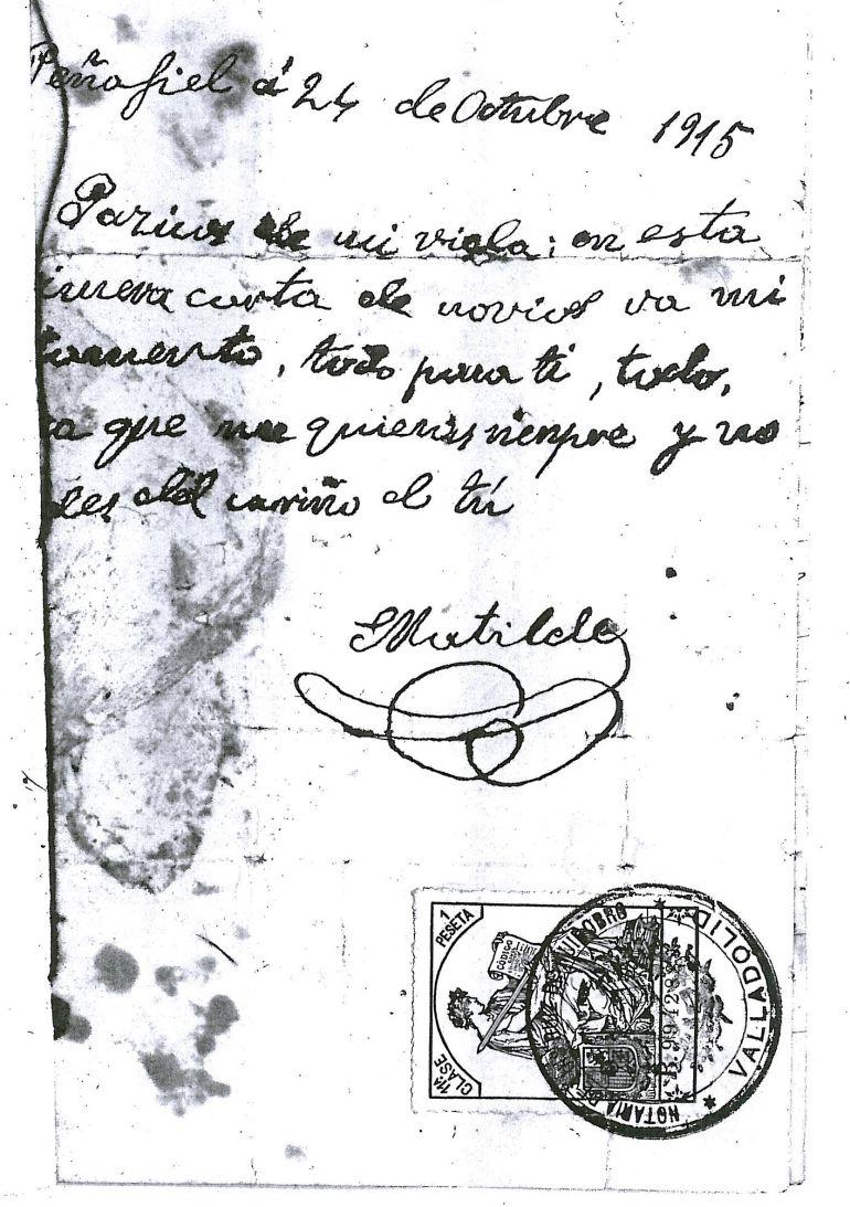 Testamento de Matilde