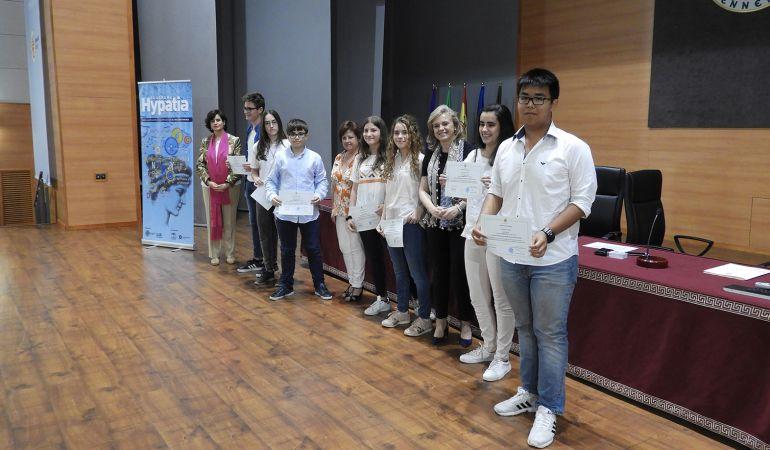 Ganadores del I Concurso Matemático de Primavera de la UJA