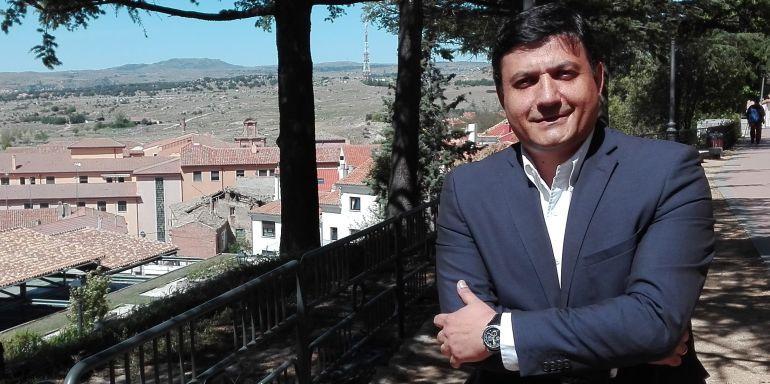 Carlos García, presidente del PP de Ávila