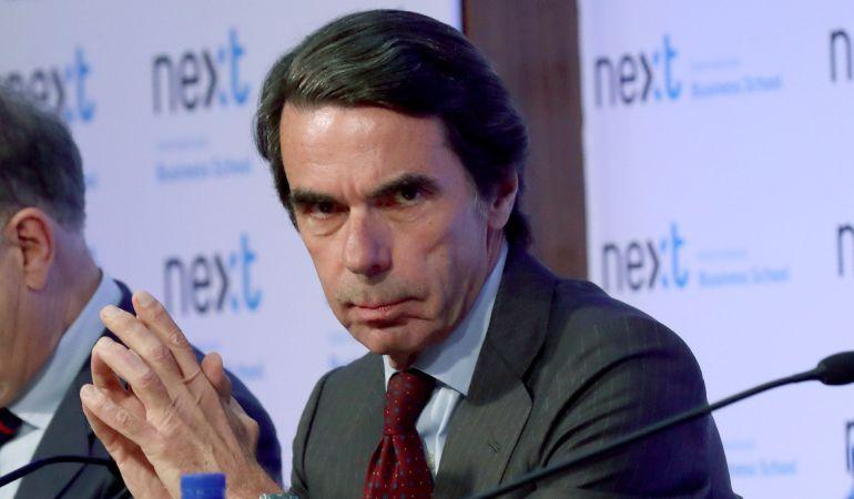 Muchos afiliados han criticado las palabras del expresidente José María Aznar