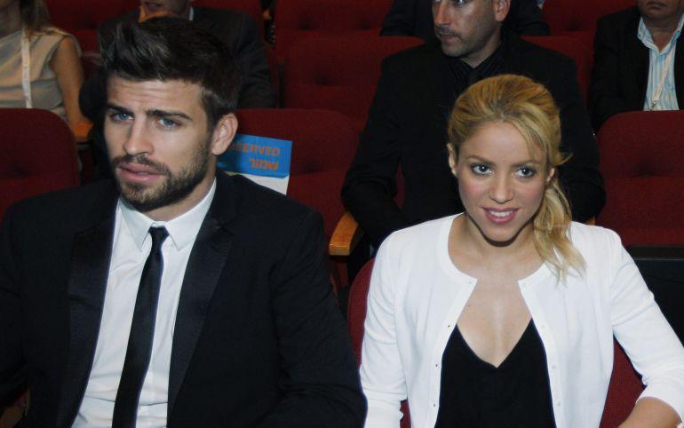 Gerard Piqué i Shakira, en una imatge d'arxiu