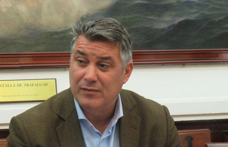 Ignacio Romaní, en uan rueda de prensa reciente