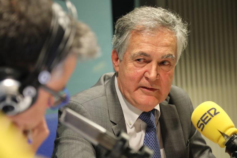 Rafael Garesse, rector de la Universidad Autónoma de Madrid, durante su entrevista con Javier Casal en La Ventana de Madrid