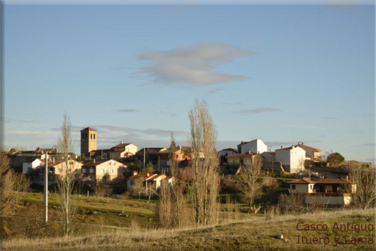 Vista general del municipio de Ituero y Lama