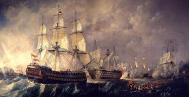 Combate de San Vicente.