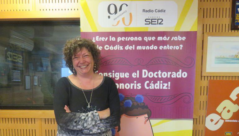 Mariló Maye, ganadora de la repesca en el Doctorado Honoris Cádiz 2018