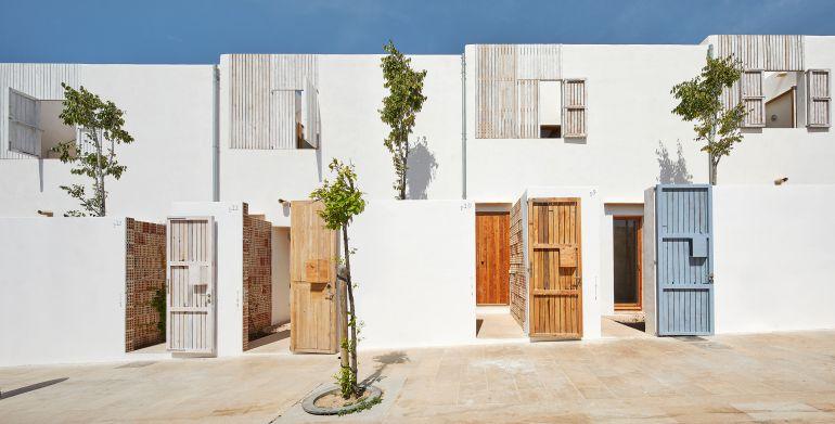 Imagen de las viviendas