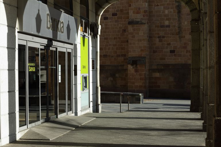 Oficina central de Bankia en Ávila