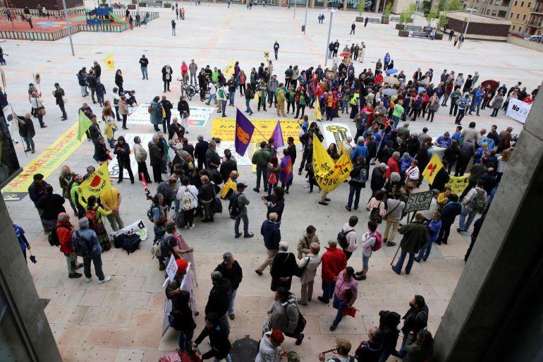 Imagen del inicio de la marcha.
