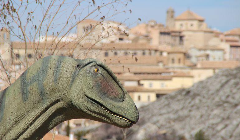 """En el Museo hay varias réplicas de """"Concavenator"""", el dinosaurio más famoso de Cuenca"""