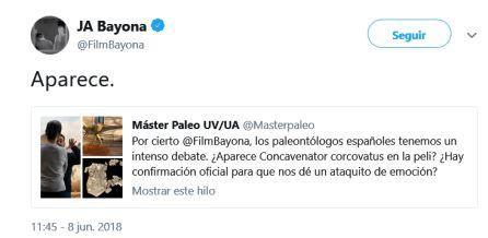 """""""Pepito"""" aparece en la nueva entrega de Parque Jurásico, según su director"""