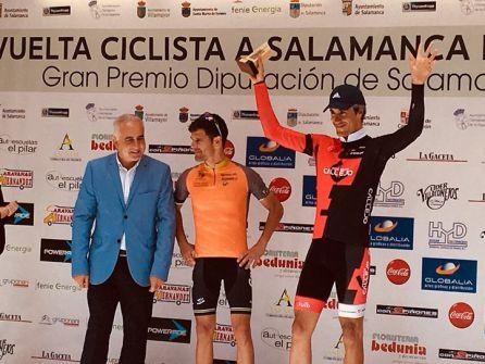 Germán Gil finalizó en tercera posición la Challenge Máster de Salamanca.