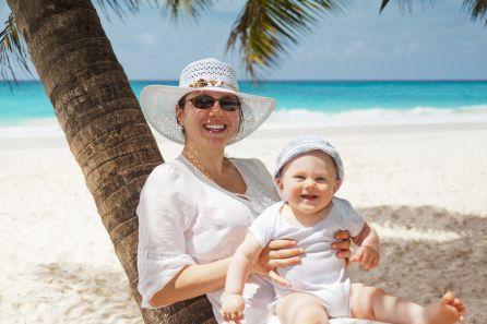 """""""Los bebés por debajo del año deberían evitar la playa"""""""