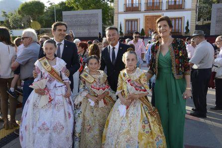 Proclamación de la Reina Infantil y sus Damas de Honor.