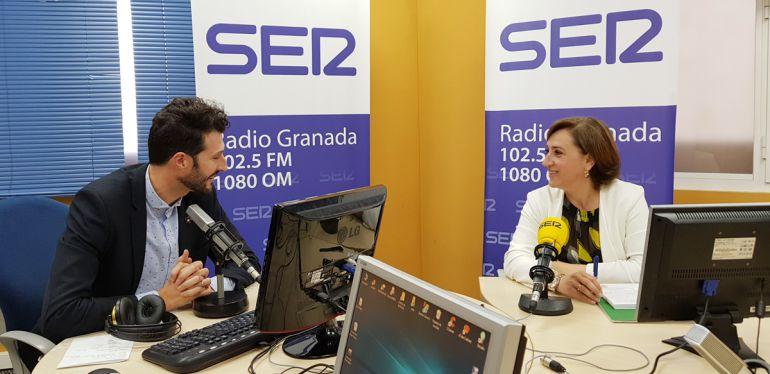 Enrique Árbol entrevista a la delegada del Gobierno andaluz en Granada, Sandra García en Radio Granada