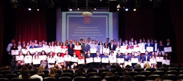 Acto de entrega de los Premios Extraordinarios de Educación de la Comunidad de Madrid