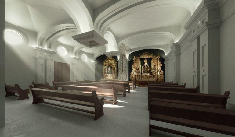 Hermandad de La Estrella, ampliación de su capilla: Los hermanos de ...