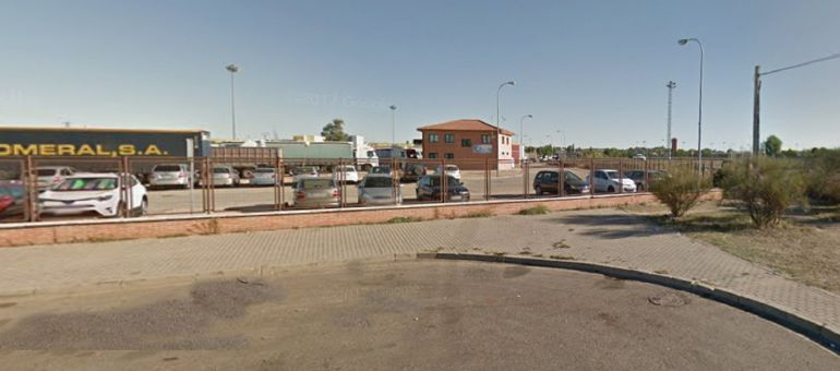 La parte de la terminal de camiones más cercana al recinto ferial podría ser utilizaco para la zona de restauración y puestos de venta de Sonorama Ribera 2018