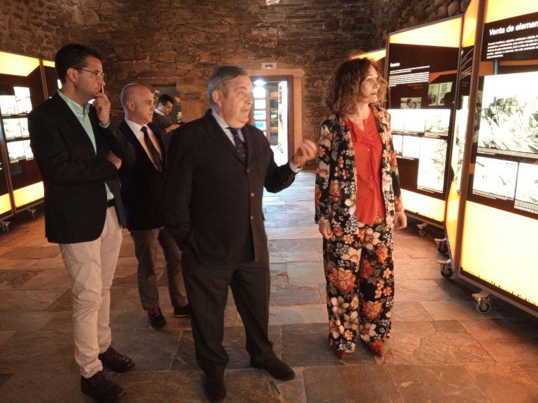 La alcaldesa recibe explicaciones de Juan Valentín