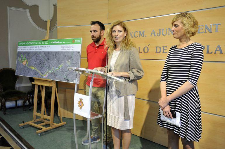 Castellón invertirá 20 millones en 10 años para transformar el Riu Sec en un corredor medioambiental