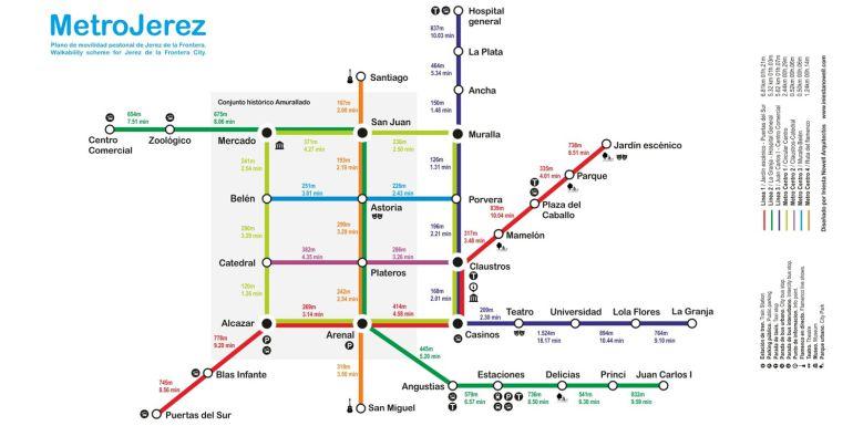 "Imagen de la red ""Metro Jerez"""
