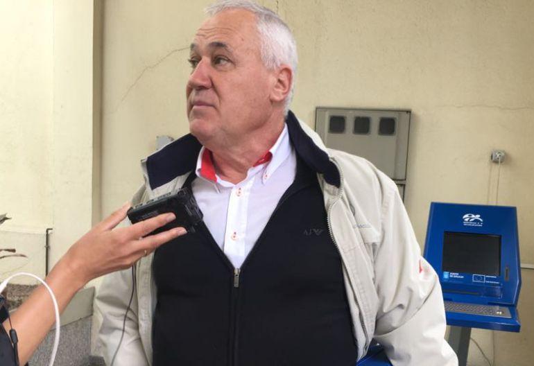 Manuel Martínez, alcalde de Becerreá, este martes