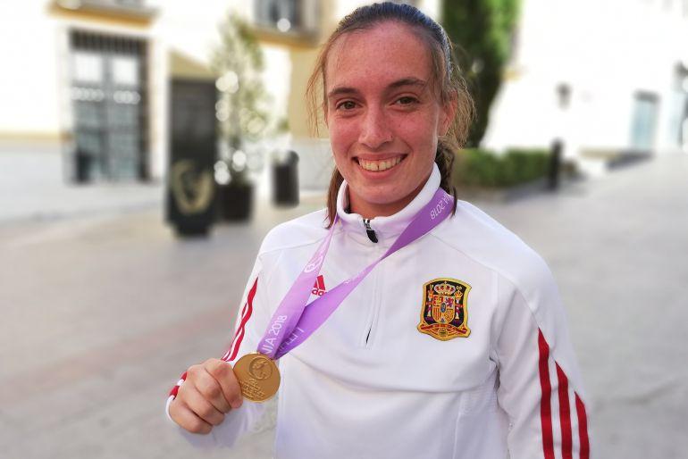La yeclana Eva Navarro, al Mundial Sub-20