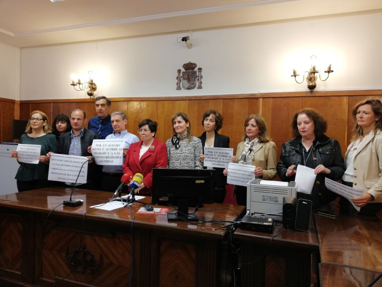 Letrados de la Administración de Justicia de Segovia.
