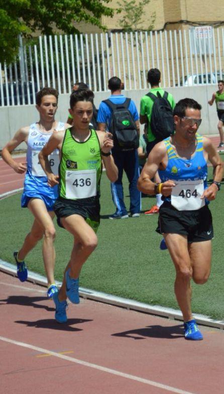 Adrián Díaz López aspira a competir a nivel Nacional y no le faltan aptitudes