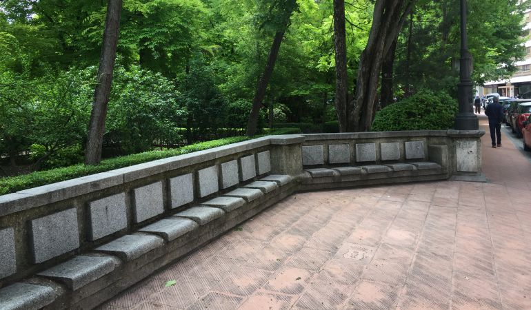 El Ayuntamiento propuso en 2008 proteger el muro del Parque de San Julián