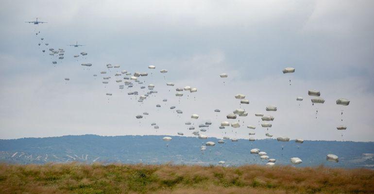Los militares se encontraban realizando ejercicios en el campo de maniobras de San Gregorio