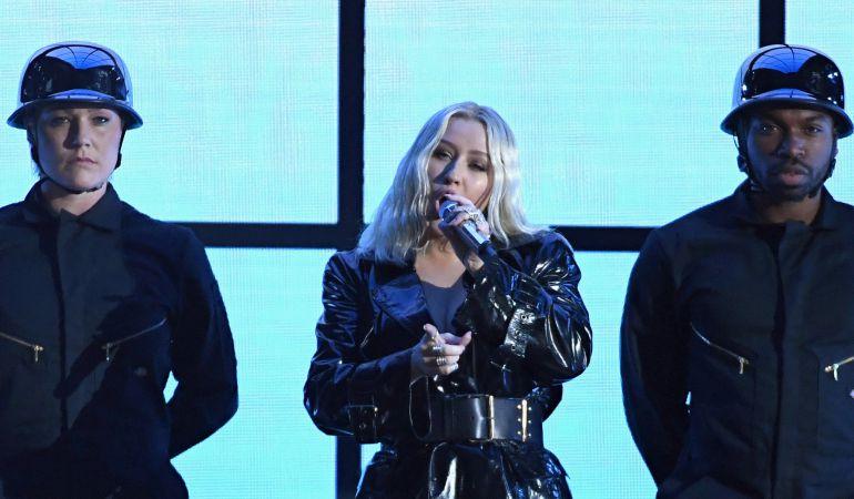 Aguilera ha vuelto a explotar su imagen sexual sin renunciar a una potentísima voz