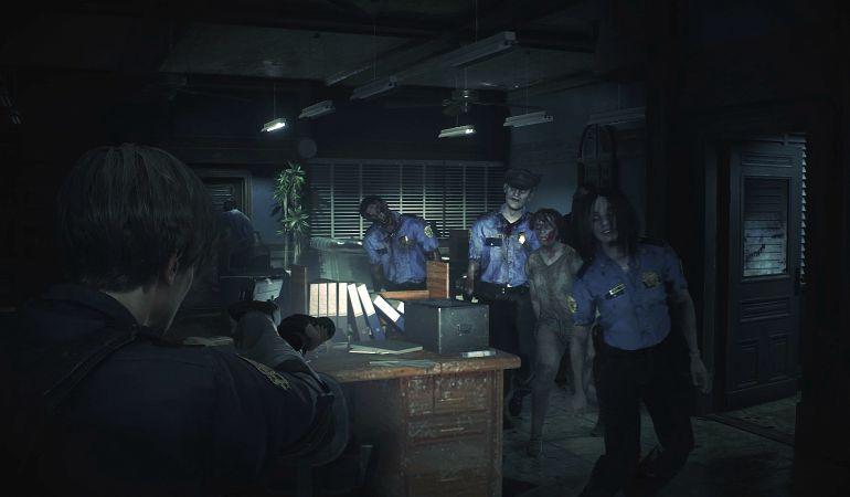 La nueva comisaría de Racoon City plagada de zombies
