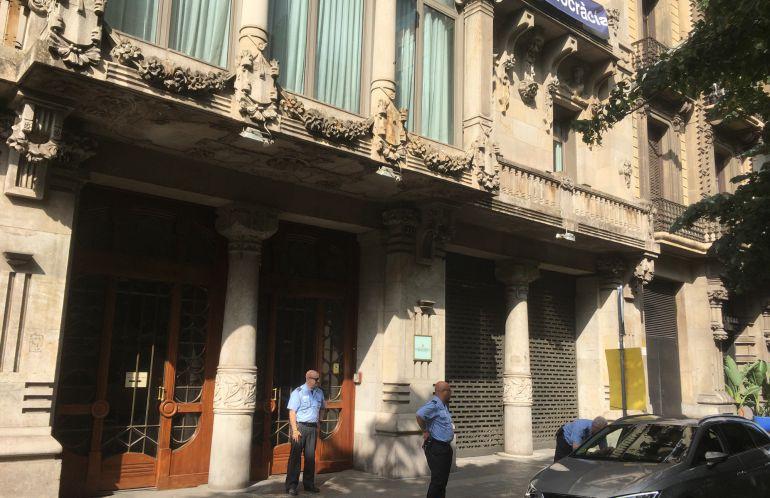 Seu de la conselleria d'Economia a la Rambla de Catalunya de Barcelona