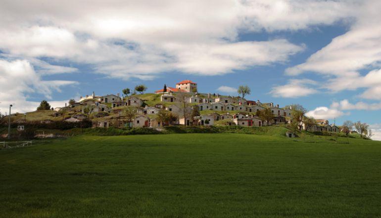 Bario de bodegas tradicionales El Cotarro de Moradillo de Roa