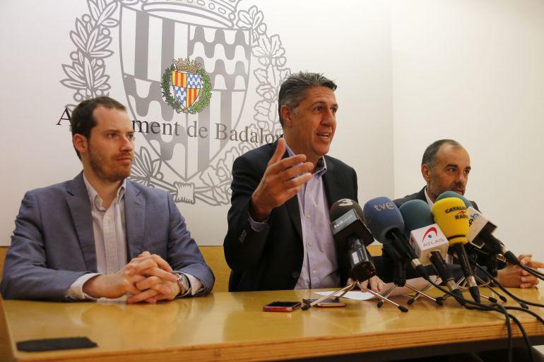 El líder del PP a Badalona, Xavier Garcia Albiol.