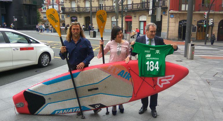 La élite del paddle surf se da cita este sábado en la ría
