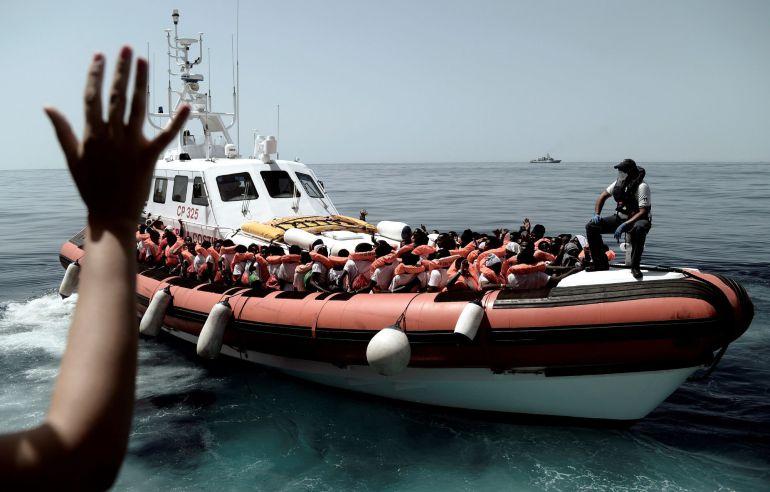 Fotografía facilitada por SOS Mediterranee.