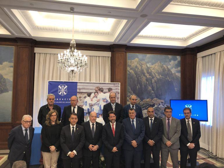 La fundación del club blanquiazul fue presentada oficialmente