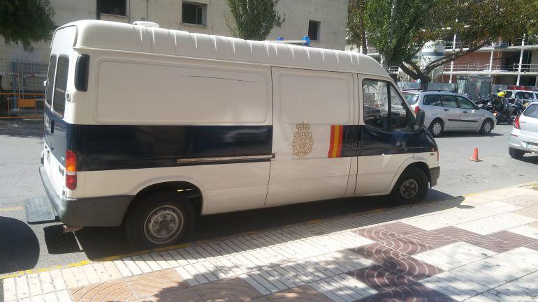 Imagen de archivo de un furgón de la Policía Nacional