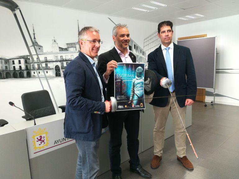 El Ayuntamiento de León acogió la presentación del Campeonato de Castilla y León