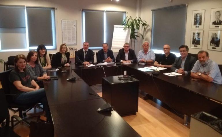 Representantes del Consell y de Vueling se reunieron este miércoles en Palma.