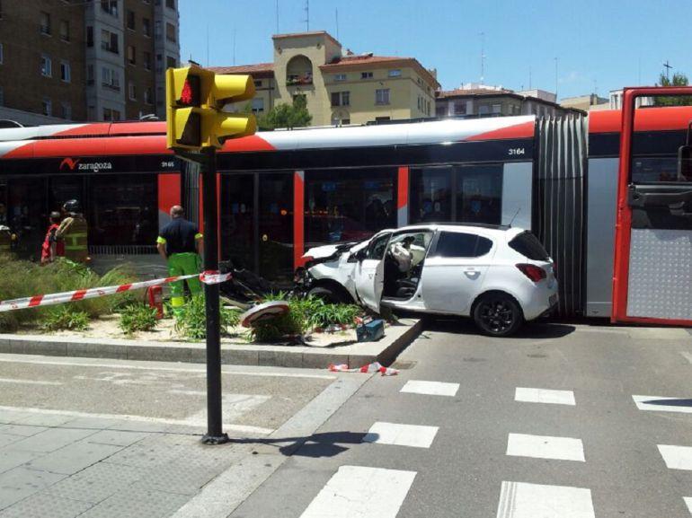 El accidente se ha registrado entre la avenida Goya y Fernando el Católico y Gran Vía