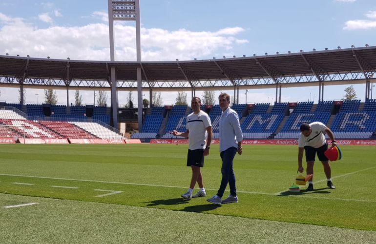 Esteban Navarro y Miguel Ángel Corona.