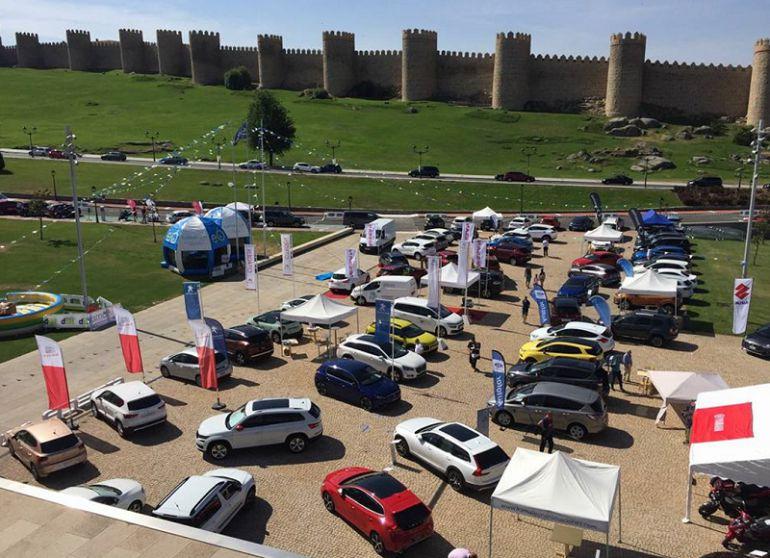 Las principales marcas y concesionarios se dan cita en la 'Feria del Motor de SER Ávila'