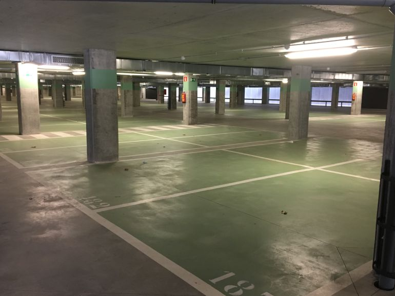 Nuevo aparcamiento del Hospital