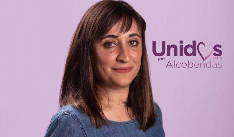 Isabel Rosa, candidata a la secretaria general de Podemos Alcobendas