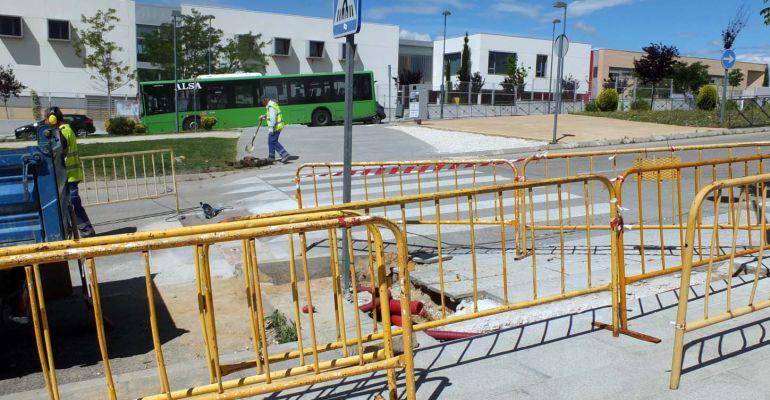 Los nuevos semáforos permitirán mejorar la seguridad vial en la zona