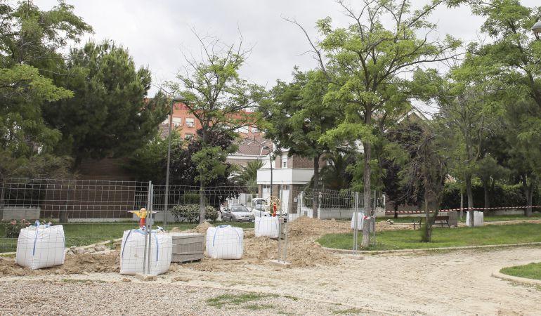 Uno de los parques que se verán mejorados es el del barrio de El Bercial