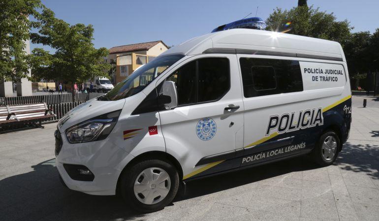 Uno de los nuevos vehículos policiales